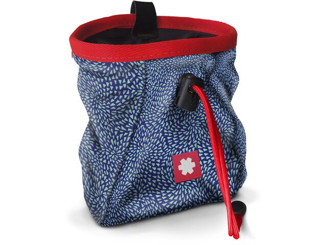 Ocun Lucky Chalk Bag with Belt, niebieski